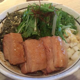 トロ肉のせ和え麺(麺屋はなび 桑名店)