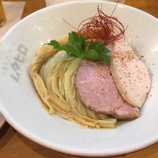 鶏つけそば  塩(ムタヒロ 大阪福島店 )