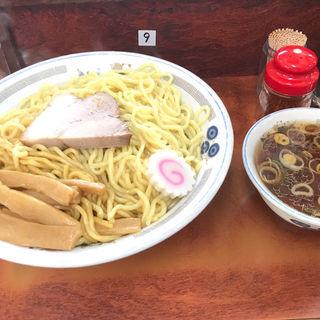 油そば特大とスープ(珍々亭 (珍珍亭 ちんちんてい))