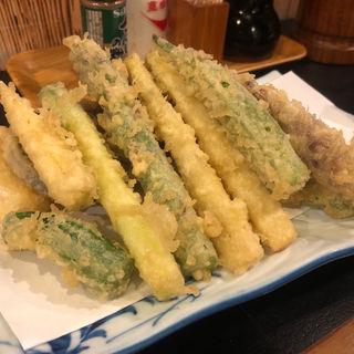 野菜天ぷら盛り合わせ(ほろよい )