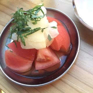 ガリトマト(焼売酒場いしい)