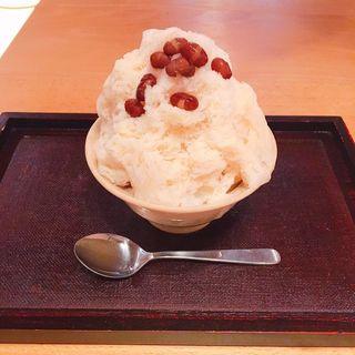 和三盆練乳小豆 (ミニサイズ)(ハルヒノ (春日野窯))