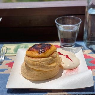 ブリュレパンケーキ?