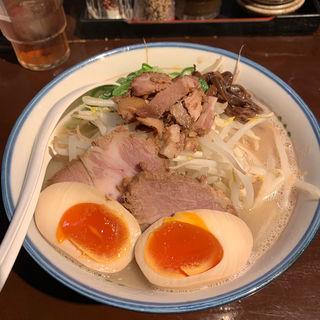 肉もやしらぁめん(麺の坊 砦)