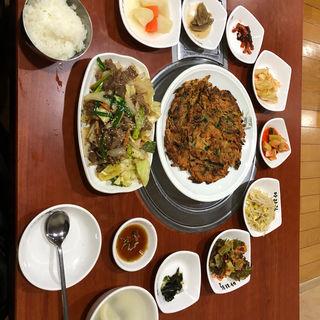 純豆腐チゲ定食(アリラン食堂 )