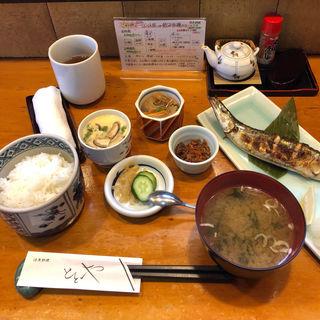 昼定食 焼魚(活魚料理ととや (かつぎょりょうり・ととや))