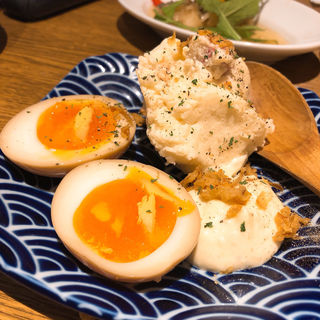とろ〜り味玉ポテトサラダ(佐藤商店 )