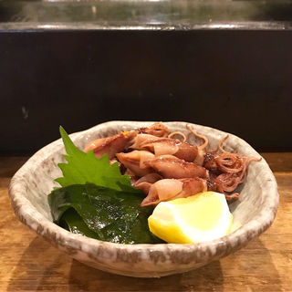 ホタルイカの刺身(吉野寿司 (よしのずし))