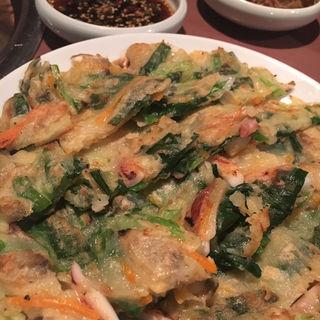 海鮮チヂミ(明洞 )