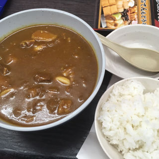 カレーぶっかけうどんセット(資さんうどん諸岡店)