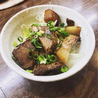ミニチャーシュー丼(塩そば 加とう)