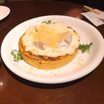 トリプルチーズパンケーキ