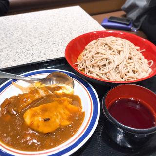 ミニカレーカツ丼セット(富士そば 神楽坂店)