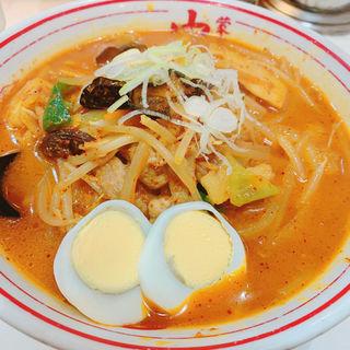 五目味噌タンメン(蒙古タンメン中本 渋谷店)