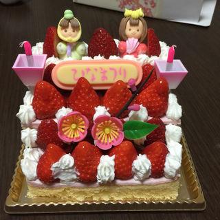ひな祭りケーキ(ポームダムール 御座店 )