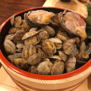 貝のつかみ取り(浜焼太郎 中洲店)