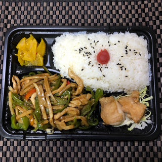 青椒肉絲弁当(太陽島)