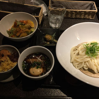 つけ麺定食(豚角煮)(花雷 )