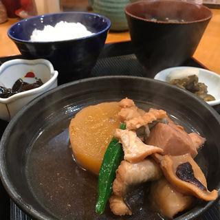大根と穴子のうま煮定食(酒処 やまね )
