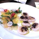 鮮魚のカルパッチョ2種盛り合わせ