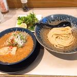 濃厚エビ味噌つけ麺
