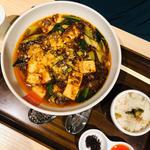 麻婆麺 〆めし付き