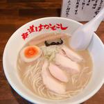 濃厚鶏そば(麺道はなもこし)