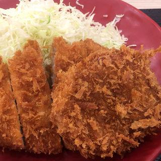 ロースメンチカツ定食(かつや 愛知尾張旭店 )