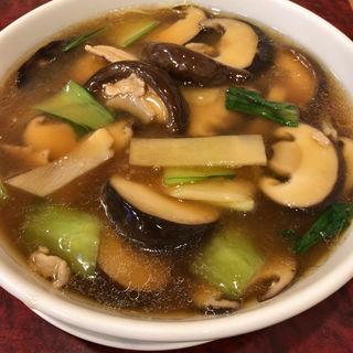 椎茸うま煮そば(華吉 )
