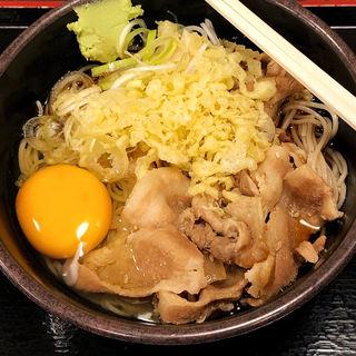 肉そば(ゆで太郎 水道橋店 )