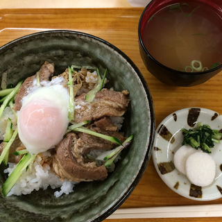 京丹波ポークの照り焼き丼