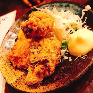 鶏カラ小(食堂うめぼし)