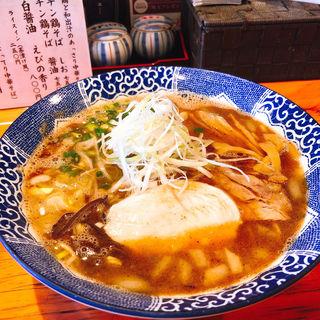 鶏白湯 醤油(麺や亀陣)