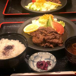 焼肉定食(洋食屋牛銀)