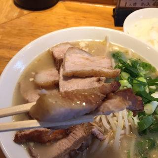 チャーシュー麺(薩摩っ子ラーメン 北新地店 (さつまっこらーめん))