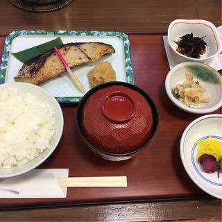 本さわら酒粕白味噌漬定食(京粕漬 魚久銀座店 (キョウカスヅケウオキュウ))