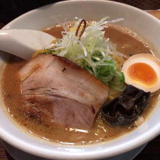 濃厚味噌らーめん(麺屋 雪風 すすきの本店)