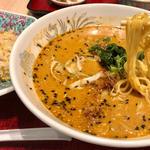 担々麺セット(担々麺とチャーハン)(中国酒家 朝陽閣 長堀店 (チョウヨウカク))