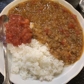 激辛キーマカレー(鉄板焼き べろべろばあ (Beroberobar))