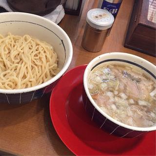 塩つけそば+豚足(麺屋 えぐち )