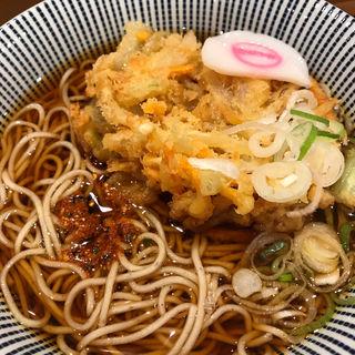 かき揚げ天そば・うどん(そば処新宿 )