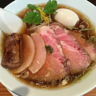 鳥LABOそば(麺LABOひろ)