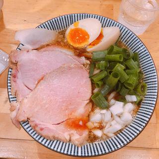 煮干醤油らーめん(ふく流らーめん 轍 本町本店 (ワダチ))