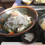 生しらす丼(湘南海鮮 座々丸)