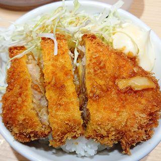 ミニチャーカツ丼(玉 赤備)