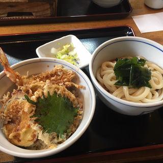 天丼セット(五城 (ごじょう))