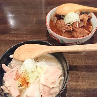 豚の白煮(炭焼はらみ専門店 福光)