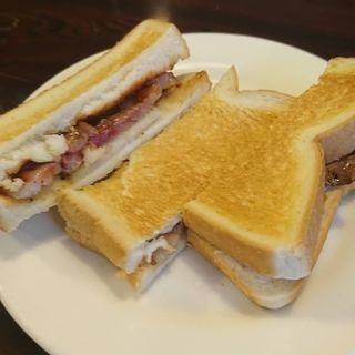 ステーキサンドイッチ(ほそやのサンド )