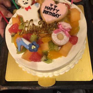 birthdayケーキ(ル・タブリエ ますがた店 (Le Tablier))