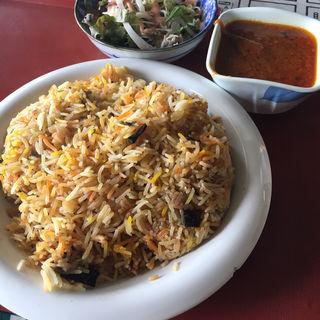 ビリヤニセット(アラビア料理インド料理レストラン花(HANA))